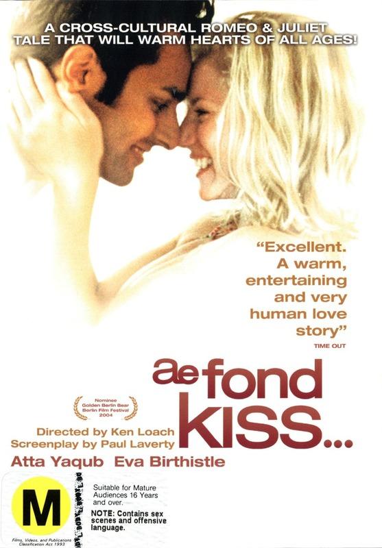 Ae Fond Kiss on DVD