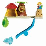 Fisher Price Little People Bath Tub Playset