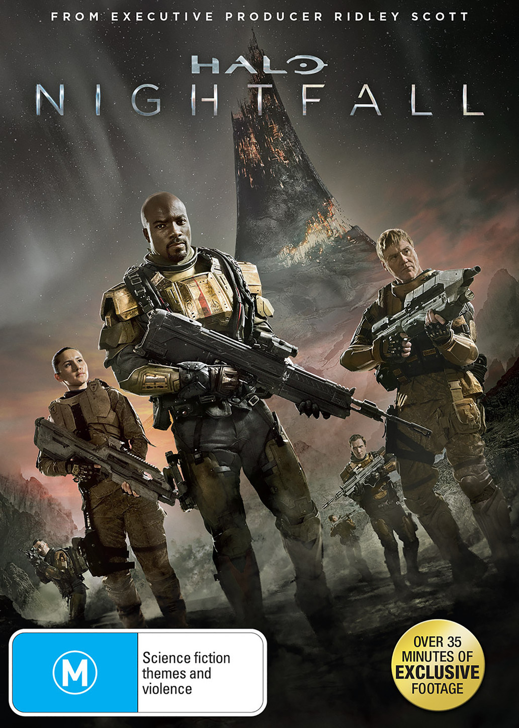Halo: Nightfall on DVD image