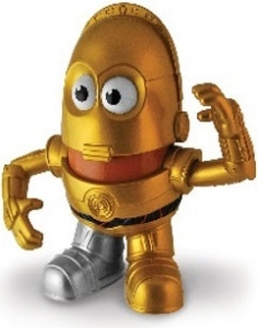Star Wars - C3PO Mr Potato Head