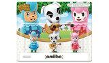Nintendo Amiibo Triple Figure Pack - Animal Crossing Figure for