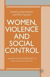 Women, Violence and Social Control image