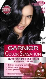Garnier Color Sensation Permanent Hair Color - 2.1 Black Sapphire