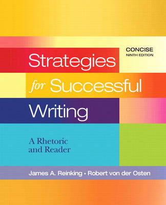 Strategies for Successful Writing, Concise by James A. Reinking image