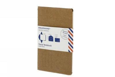 Moleskine Pocket Postal Notebook - Kraft Brown