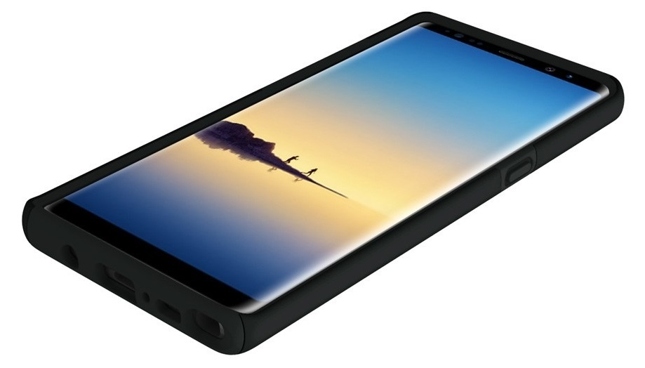 Incipio DualPro Note 8 -Black image
