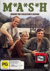 MASH - Complete Season 10 (3 Disc Box Set) on DVD image
