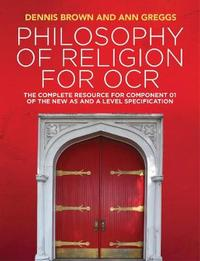 Philosophy of Religion for OCR by Dennis Brown image