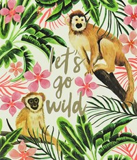 Honolulu Birthday Greeting Card - Go Wild