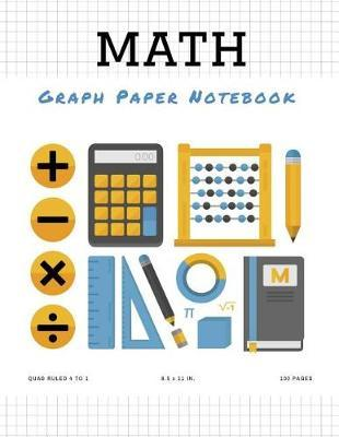 Math Graph Paper Notebook by Graph Paper Source