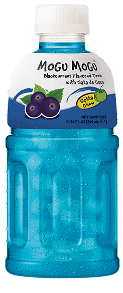 Mogu Mogu: Blackcurrant Flavored Drink 320ml