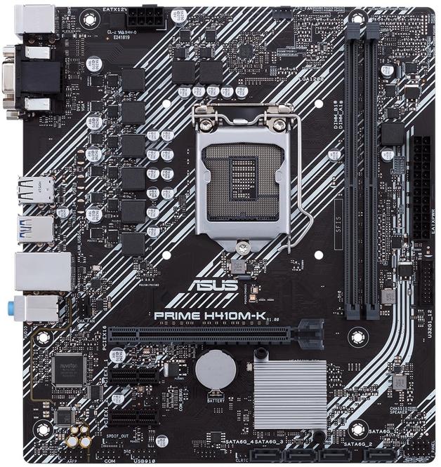 ASUS Prime H410M-K mATX Motherboard