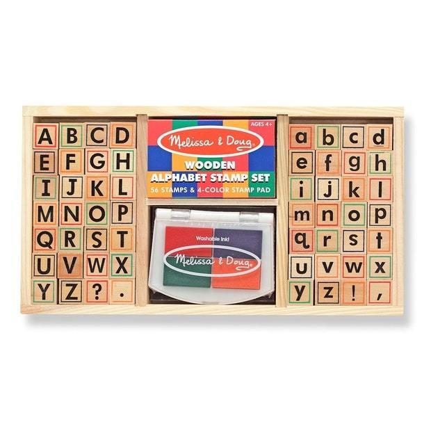 Melissa & Doug: Alphabet Stamp Set
