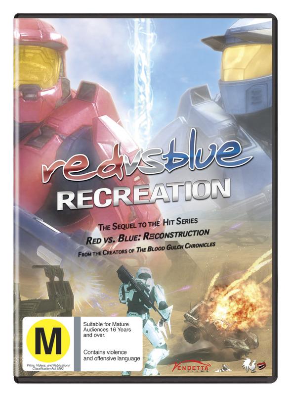 Red vs. Blue - Season Seven: Recreation on DVD