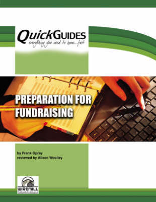 Preparation for Fundraising by Frank Opray