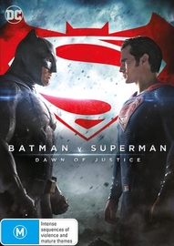 Batman v Superman: Dawn of Justice on DVD