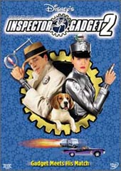 Inspector Gadget 2 on DVD