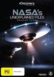 NASA's Unexplained Files - Season 3 on DVD