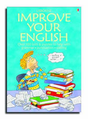Usborne Improve Your English by Jane Chisholm image