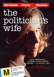 The Politician's Wife on DVD image