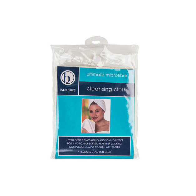 Bambury Micro Facial Cleansing Cloth