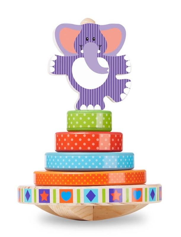 Melissa & Doug: Elephant Rocking - Stacking Toy
