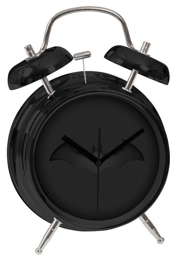 Batman Alarm Clock Black Batarang image