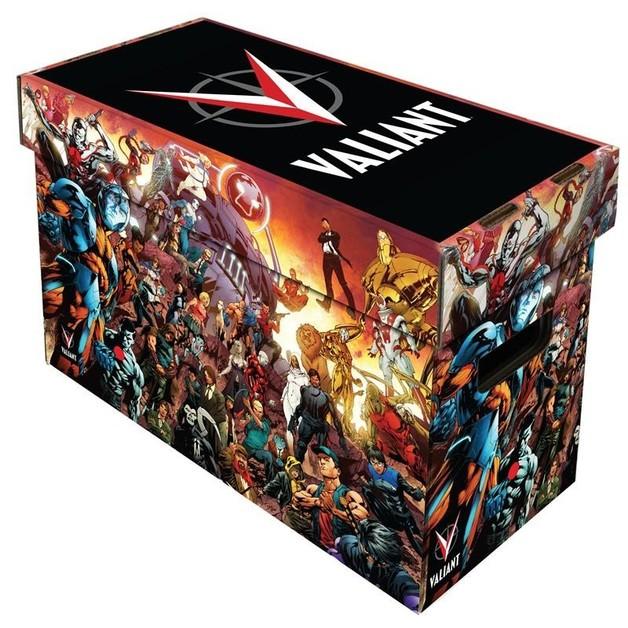 BCW: Comic Storage Box - Valiant Short