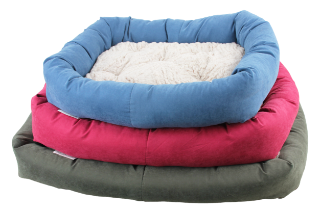 Pawise: Dog Bed with Remove Pillow - Small/Blue