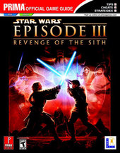 Star Wars EP3 - Prima official Guide for PlayStation 2