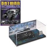 DC Batman Automobilia #3 Magazine + Diecast 1/43 Batman Begins 2005 Batmobile