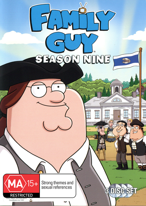 Family Guy - Season 9 (3 Disc Set) DVD