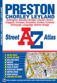 Preston Street Atlas by Geographers A-Z Map Company