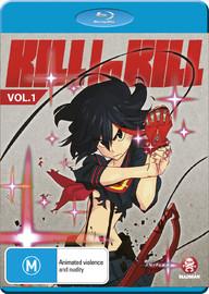 Kill La Kill - Volume 01 on Blu-ray