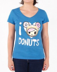 Tokidoki: I Heart Donuts T-Shirt (Medium)