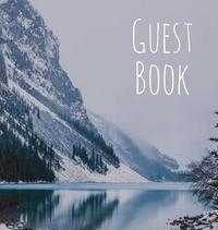 Guest Book, Visitors Book, Guests Comments, Vacation Home Guest Book, Holiday Home, Beach House Guest Book, Comments Book, Nautical Guest Book, Bed & Breakfast, Retreat Centres, Visitor Book, Family Holiday Guest Book (Hardback) by Lollys Publishing