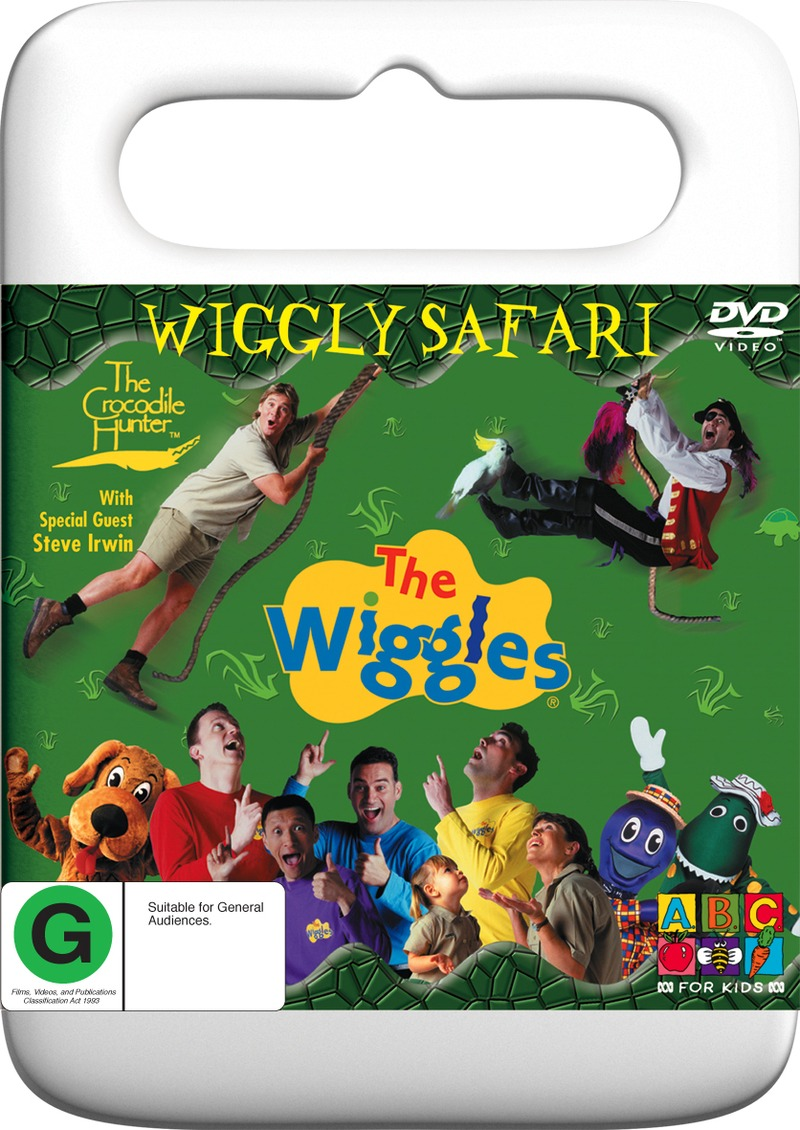 The Wiggles - Wiggly Safari on DVD image