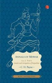 Annals of Mewar by James Tod