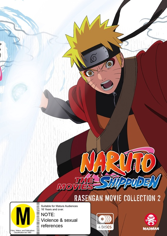 Naruto Shippuden Rasengan Movie Collection 2 on DVD