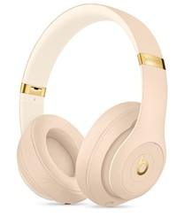 Beats: Studio3 Wireless Over-Ear Headphones - with Pure Active Noise Cancellation - Desert Sand Special Edition