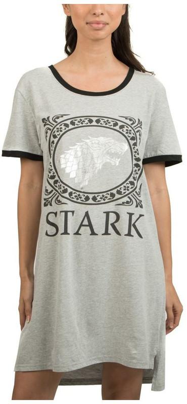 Game Of Thrones: Sleep Shirt - Stark (X-Large)