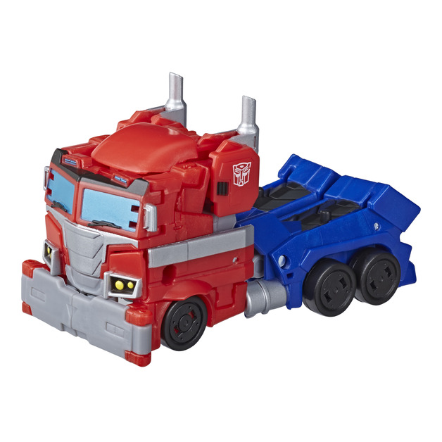 Transformers Cyberverse: Deluxe Class Action Figure - Optimus Prime