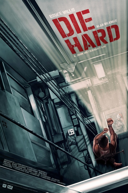 Die Hard: Premium Art Print - Movie Poster #1