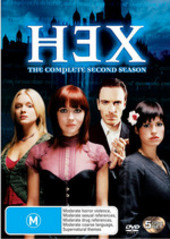 Hex - Complete Season 2 (5 Disc Set) on DVD