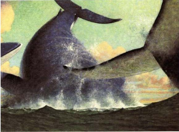 The Whales' Song (Kate Greenaway Medal Winner) by Dyan Sheldon image