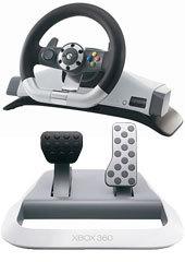 Xbox 360 Wireless Racing Wheel for Xbox 360