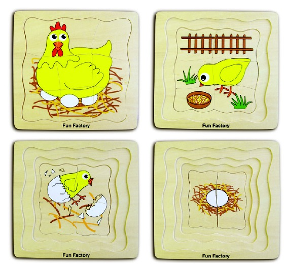 Fun Factory: Chicken Layer Puzzle image