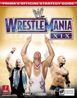 WWE Wrestlemania XIX - Prima Official Guide for GameCube