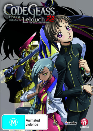 Code Geass: Lelouch of the Rebellion R2 - Vol 2 on DVD