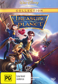 Treasure Planet on DVD image